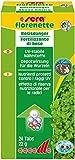sera 03320 florenette - Basisdünger mit Nährstoffdepot für überwiegend wurzelzehrende Wasserpflanzen im Aquarium, farblos, 24 Tabletten
