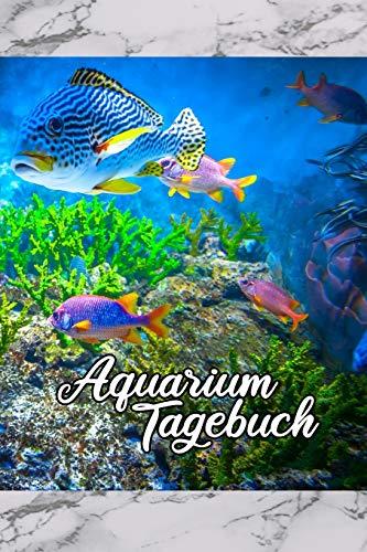 Aquarium Tagebuch: Terminplaner,...